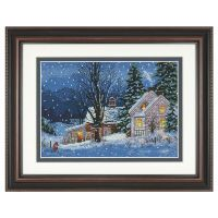 Quiet Night Counted Cross Stitch Kit
