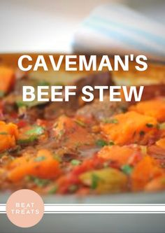 Caveman's Beef Stew | Dinner Recipes | Allergies Friendly Recipe | Diary Free | Gluten Free | Refined Sugar Free | Soy Free 2d