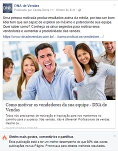 Facebook DNA de VendasComo motivar vendedores