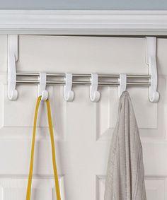 Look what I found on #zulily! White Adjustable Over-the-Door Hook #zulilyfinds