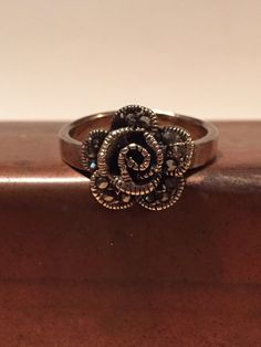 A personal favorite from my Etsy shop https://www.etsy.com/listing/257857336/vintage-flower-ring-marcasite-boho