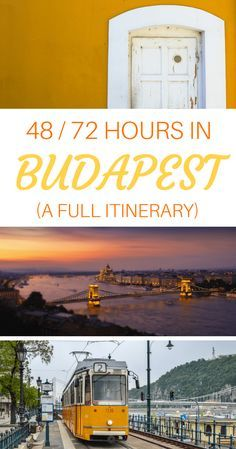 48-Hour and 72-Hour Budapest Itinerary: How to Spend 2 or 3 Days in Budapest, According to a Local via @WanderTooth
