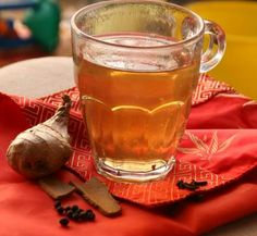 Try it the next time you or someone in your family is sick. 2 cups water 5 whole black pepper pods 4 cloves 2-3 1 inch cinnamon sticks 2 inches ginger. Put everything together in a pot and boil for about 20 minutes at which point the water would have turned black or dark brown and the water quantity has reduced to half the amount.