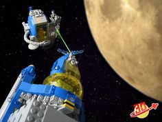 Lego in Space!