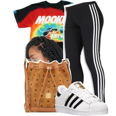 A fashion look from July 2016 featuring adidas, adidas shoes and MCM handbags. Browse and shop related looks.