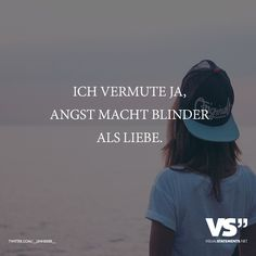 Ich vermute ja, Angst macht blinder als Liebe - Quotation Sample, Quotation Format, Quotation Marks, V For Vendetta Speech, Short Quotes, Best Quotes, Cloze Reading, Taking Chances Quotes, Camus Quotes