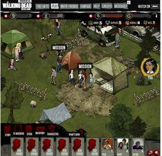 The Walking Dead Social Game http://www.daisyfail.com/2012/08/review-walking-dead-social-game-open.html#
