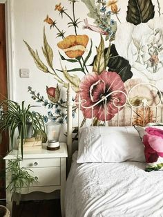 Trendy Bedroom Interior Wallpaper Home My New Room, My Room, Spare Room, Trendy Bedroom, Bohemian Bedrooms, Bohemian Interior, Home Bedroom, Bedroom Ideas, Bedroom Rustic