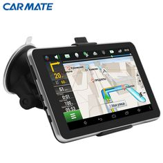 """7"""" Android 4.4 Car GPS Navigation navigator MT8127A Quad-core Bluetooth WIFI Navitel/Europe/Russia Map Vehicle gps Capacitive"""