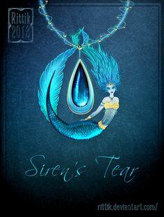 Amulet - Siren's tear by Rittik.deviantart.com on @deviantART