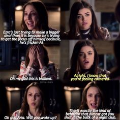 Find images and videos about pretty little liars, pll and lucy hale on We Heart It - the app to get lost in what you love. Pretty Little Liars Meme, Pll Memes, Ezra Fitz, Spencer Hastings, Best Shows Ever, Just Go, Favorite Tv Shows, Pretty Girls, Netflix