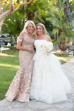 Spring wedding at tuscan inspired golf club in scottsdale arizona see more best ideas about for Garden wedding dresses mother of the bride