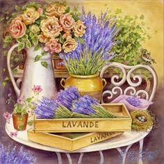 French Lavender by Gwendolyn Babbitt