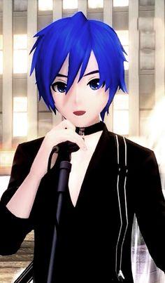 kaito shion | Tumblr Kaito Shion, Vocaloid Kaito, Hatsune Miku Project Diva, Couples Anime, Kaai Yuki, Vocaloid Characters, Blue Anime, Mobile Legend Wallpaper, Girls Anime