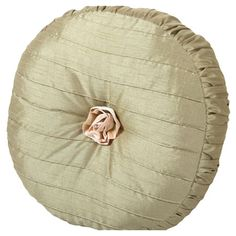 Add a chic touch of style to your home d�cor with this eye-catching accent, artfully crafted for lasting appeal.  Product: Pillow  Love the ruffle edge