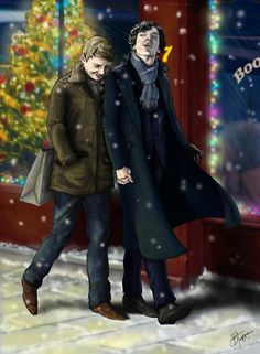 Now I ship them even harder. So hard that I could bruse you just by saying 'Johnlock'