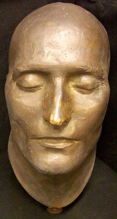 Napoleon's Death Mask, still freaks me out how much this looks like my youth leader