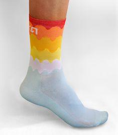 Tenerife cycling socks by Luxa.