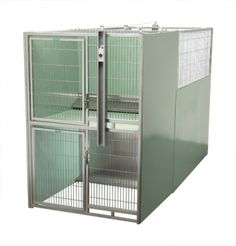T kennel space saver kennel systems and more modular and for Dog kennel systems