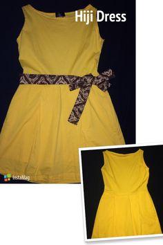 Hiji Yellow #Dress