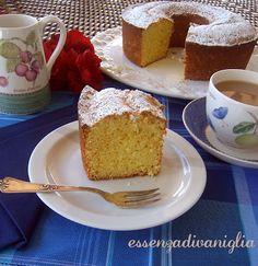 Vanilla essence: Bundt Cake with ricotta