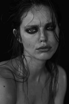 Emily DiDonato by David Roemer for Narcisse magazine Issue hair Nicolas Eldin @ Art Dept, makeup Frankie Boyd @ Streeters, manicure Yuko Wada @ Atelier Management, production A+ Productions Dark Photography, Photography Women, Black And White Photography, Portrait Photography, Expressions Photography, Foto Fashion, Woman Fashion, Emily Didonato, Face Expressions