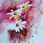 #acuarelle #acuarela #akvarell #watercolor #norway På papir fra Biltema #loose-...