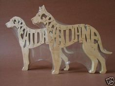 $11.99 - Great Dane Dog Wooden Amish Made Scroll Saw Toy Puzzle #ebay #Collectibles