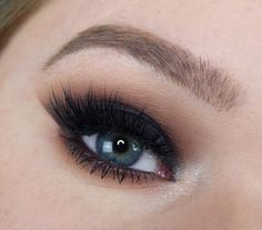 My go-to shadows for my smokey eye used were creme brulee, sidekick, corrupt and shimma shimma