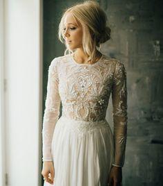 I want my wedding gown to look like this. I want my wedding gown to look like this. Bohemian Bride, Bohemian Wedding Dresses, Bohemian Hair, Boho Dress, Bohemian Style, French Wedding Dress, Bohemian Weddings, Mod Wedding, Wedding Bells