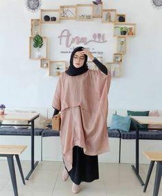 Casual Hijab Outfit, Hijab Chic, Hijab Dress, Dress Casual, Casual Outfits, Spring Dresses Casual, Trendy Dresses, Nice Dresses, Muslim Fashion