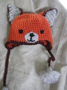 fox crochet hat | Crochet Fox Hat ∙ Creation by Biblohip on Cut Out + Keep
