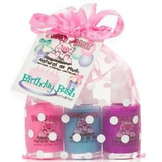 Amazon.com : Piggy Paint Three Polish Gift Sets - Birthday Bash : Nail Polish : Beauty