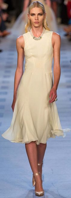 Zac Posen Spring Summer 2013 Ready to Wear Dresses Collection | bcr8tive