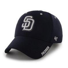94b6a8de7f268 San Diego Padres Condenser MVP Navy 47 Brand Adjustable Hat
