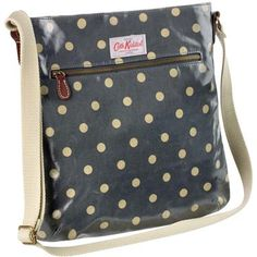 Cath Kidston Spot Oilcloth Cross-Body Bag...because I don't have enough of her bags already.