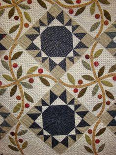 Nice block combo ~ Marilyn Herriman quilt ~ FABRIC THERAPY