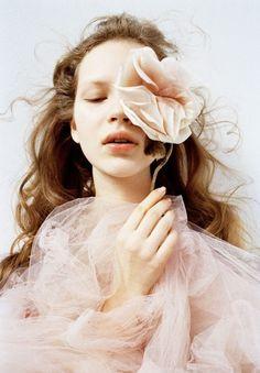 ❀ Flower Maiden Fantasy ❀ beautiful art & fashion photography of women and flowers - Bilitis   photography & design by Sayaka Maruyama   styling Rika Endo