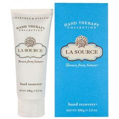 Crabtree & Evelyn La Source Hand Recovery 100g ($21) ❤ liked on Polyvore featuring beauty products, bath & body products, body moisturizers and body moisturizer