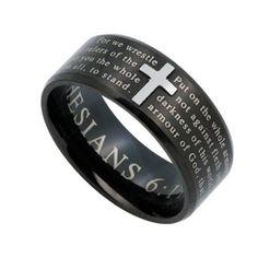 Black Armor Of God Jewelry