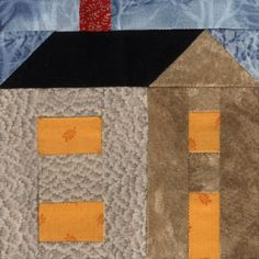 Free Country Quilt Patterns | Country House Quilt Block Pattern