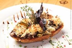 Gallo Nero Ristorante (almoço)    Bruscheta de abobrinha e berinjela com ricota defumada