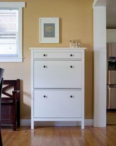 My complete IKEA shoe cabinet!