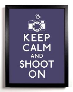 Shoot on...