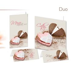 Kelly Graphic - Faire part mariage Duo