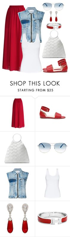 """Untitled #1422"" by gallant81 ❤ liked on Polyvore featuring Chicwish, Valentino, Michael Kors, Roberto Cavalli, 3.1 Phillip Lim, Talula and McTeigue & McClelland"
