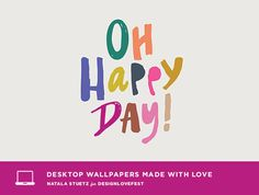 desktop wallpaper from designlovefest