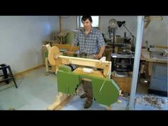 Building my portable hobby sawmill - YouTube