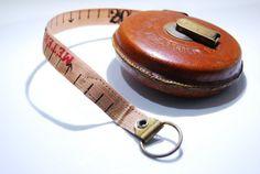 Antique Judaica Leather Tape Rare Brown by RusticHomeDeco Leather Case, Brown Leather, Tape Measure, Vintage Decor, Campaign, Content, Rustic, Medium, Antiques