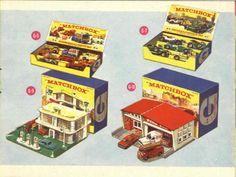 Matchbox Lesney 1964 catalog Gift sets 6 to 10